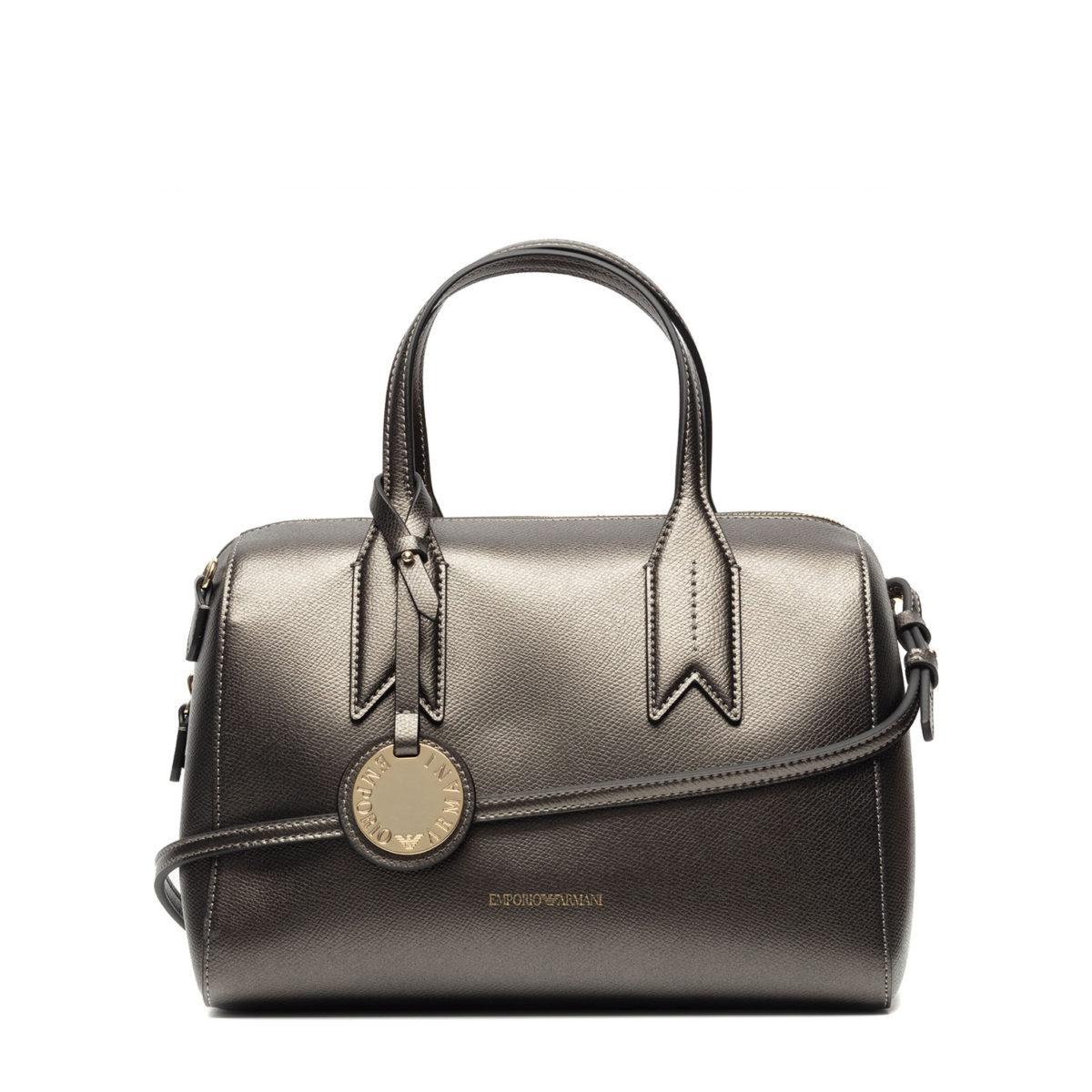 13a77f0da Emporio Armani - sac à main pour femme couleur gris   BUZZAO