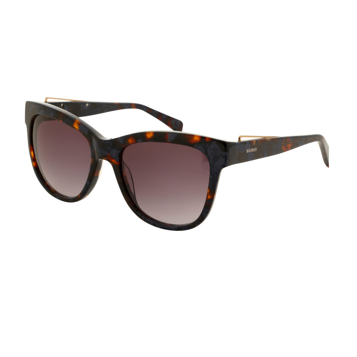 classic shoes new styles outlet on sale Balmain - Lunette de soleil couleur brun pour femme verres carrés