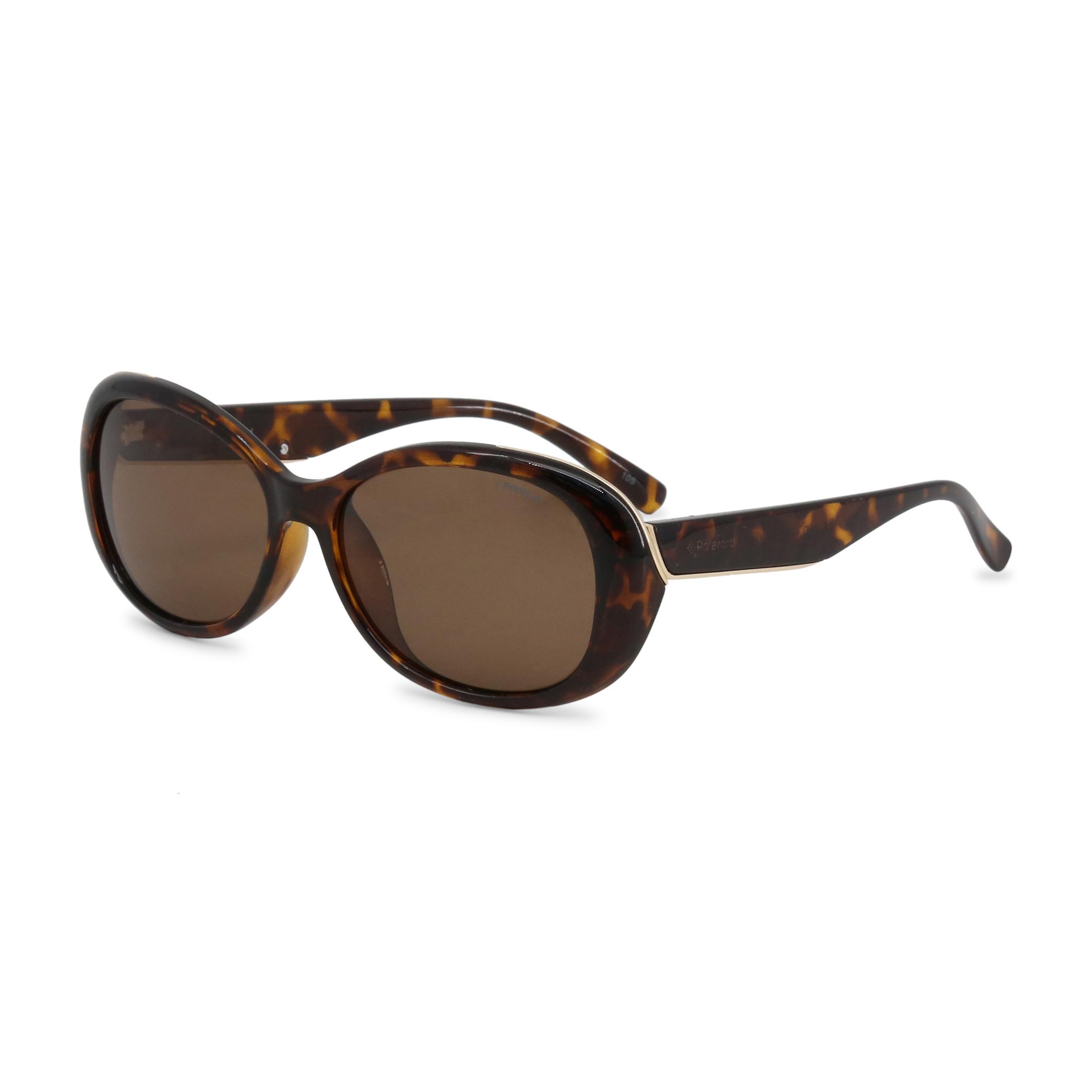 94c5961b99f85 Polaroid - Lunette de soleil couleur brun pour femme verre arrondi ...
