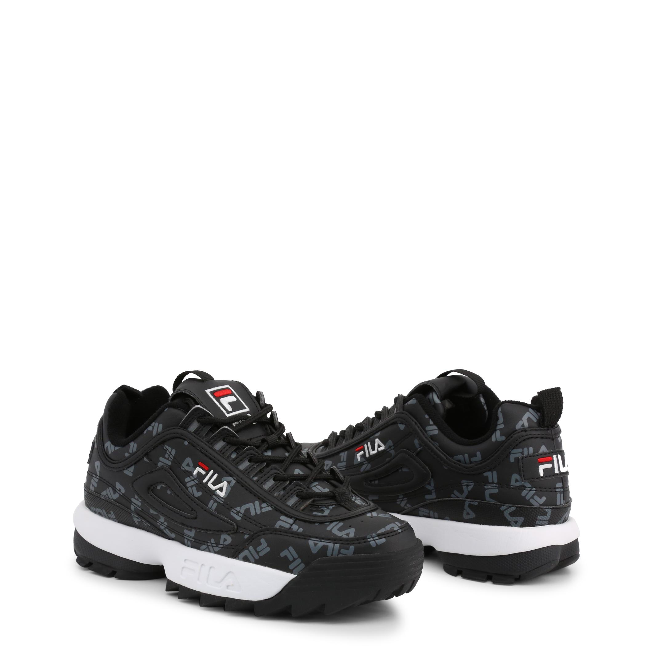 Chaussures Fila Baskets Femme Disruptor Logo Low_25Y Noir Black Original 2019   eBay