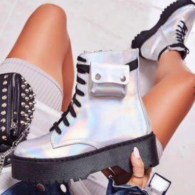 [GOGD] 2019 femmes bottes frenlum cheville sac bottes automne hiver mode Martin bottes confortable
