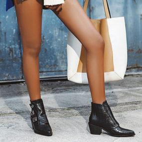 Marque nouvelle grande taille 43 talons hauts chaussures d'hiver à la mode femmes bottes femme