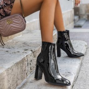 Bottines-noires-vernies-à-talon-Debbie-2