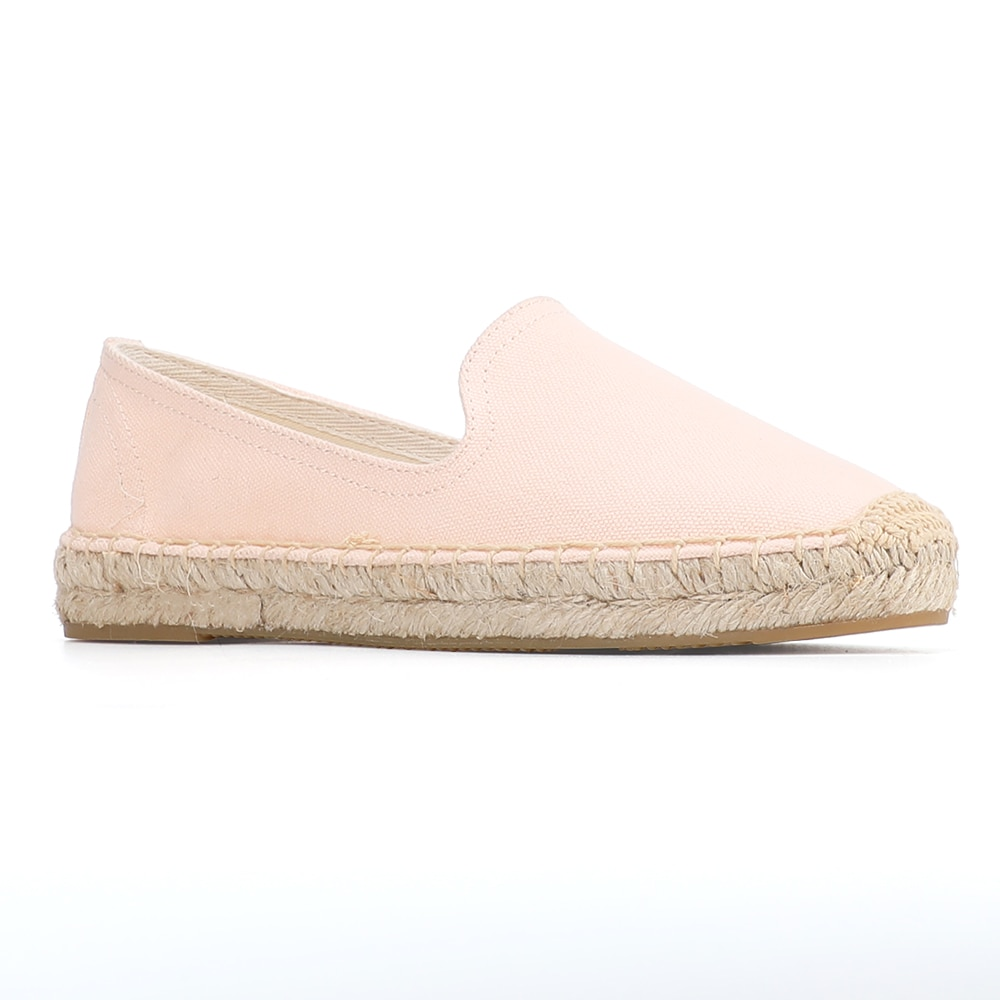 Espadrilles en caoutchouc pour femmes, mocassins d'été pour femmes, plat, plat, chaussures d'extérieur respirantes blanches, chaussures décontractées, automne, sans lacet