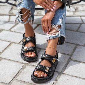 Sandales-plates-matelassée-Rachelle_3