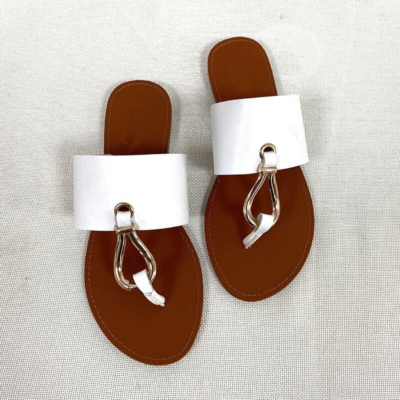 Tongs de plage pour femmes, sandales d'été pour 2021, chaussures d'extérieur pour femmes, à la mode, décontracté