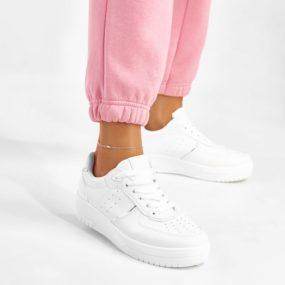 Baskets-blanches-détail-argent-Irene